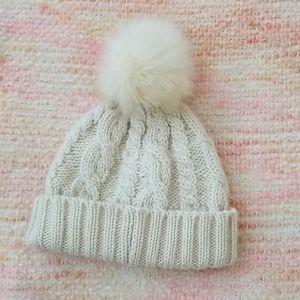 ⚡{Anthropologie} Winter Hat Pom Beanie